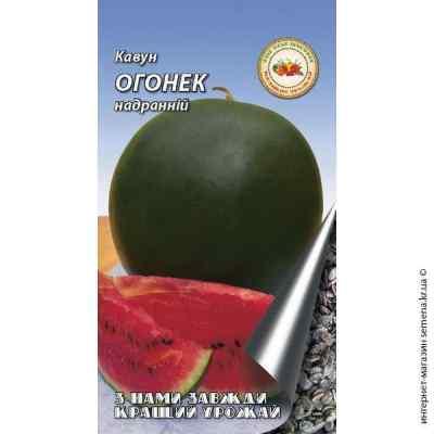 Семена арбуза Огонек 2 г.