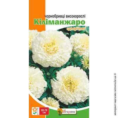 Семена бархатцев высокорослых Килиманджаро 0.5 г.
