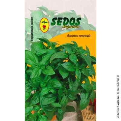 Инкрустированные семена базилика Зеленый