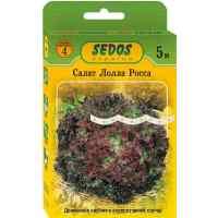 Семена салата Лолла Росса листовой на ленте 5 м
