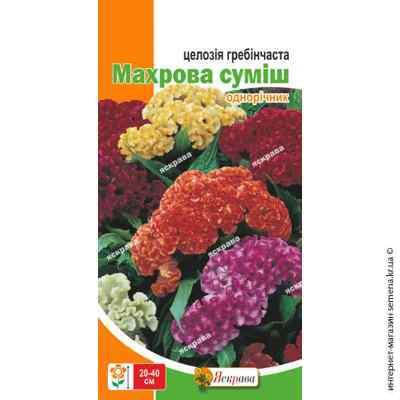 Семена целозии гребенчатой Махровая смесь 0.3 г.