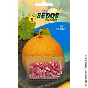Инкрустированные семена дыни Титовка