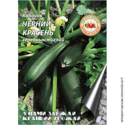 Семена кабачков Черный красавец 20 г.