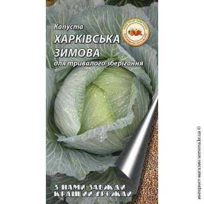 Семена капусты Харьковская зимняя 5 г.