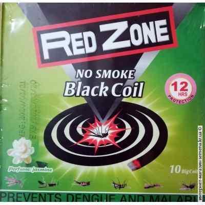Спирали Red Zone без дыма 10 шт.