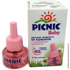 Жидкость от комаров Picnic Baby 45 ночей