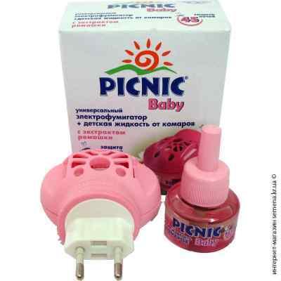 Набор Picnic Baby 45 ночей фумигатор и жидкость