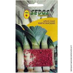 Дражированные семена лука порея Каратанский