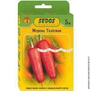 Семена моркови Талисман на ленте 5 м.