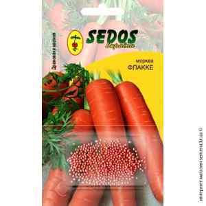 Дражированные семена моркови Флакке