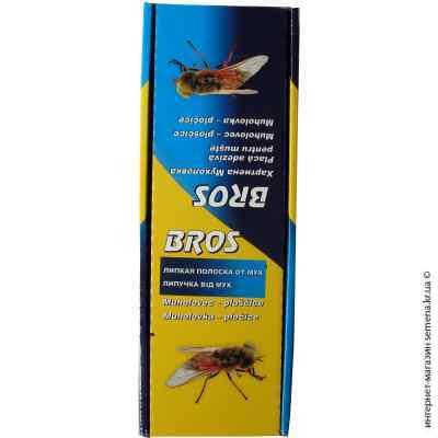 Липучка плоская от мух и тараканов Bros