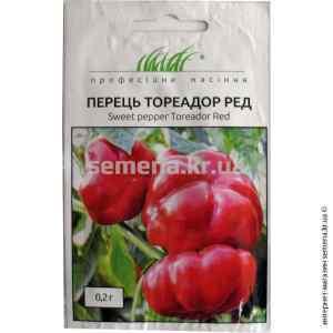 Семена перца Тореадор Ред 0.2 г.