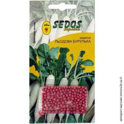 Дражированные семена редиса Ледяная сосулька 100 шт.