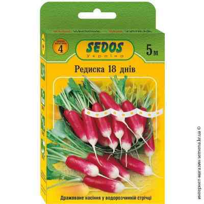 Семена на ленте редис 18 дней 5 м.
