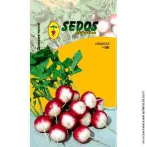 Дражированные семена редиса Красный с белым кончиком 100 шт.