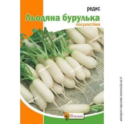 Семена редиса Ледяная сосулька 10 г. (Яскрава)