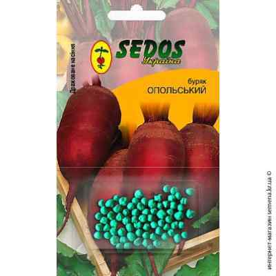 Дражированные семена свеклы Опольская