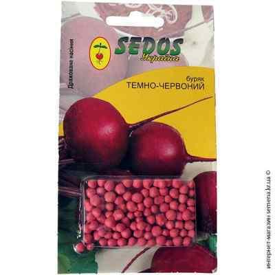 Дражированные семена свеклы Темно-красная