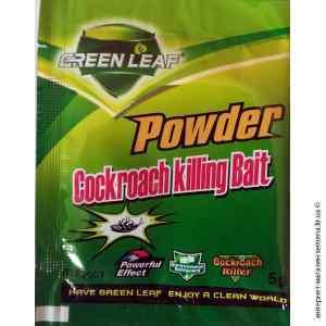 Порошок от тараканов Green Leaf 5 г.