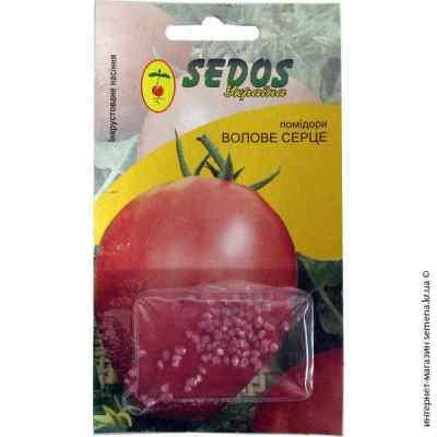 Инкрустированные семена томата Воловье сердце 0,2 г.