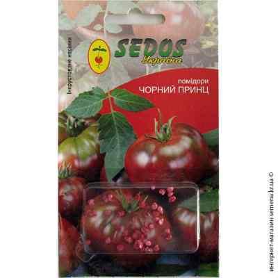 Инкрустированные семена томата Черный принц 0,2 г.