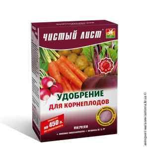 Удобрение для корнеплодов «Чистый лист», 300 г.