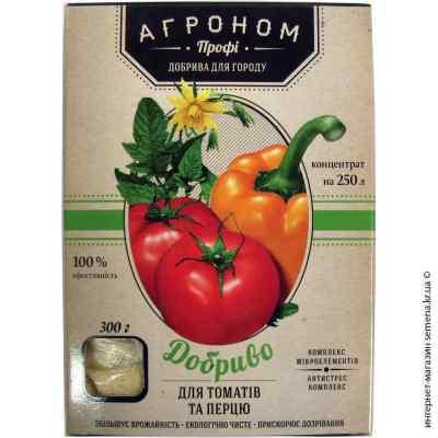 Удобрение для томатов и перца Агроном, 300 г.
