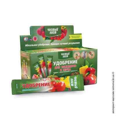 Удобрение для помидоров и перца «Чистый лист», 100 г.